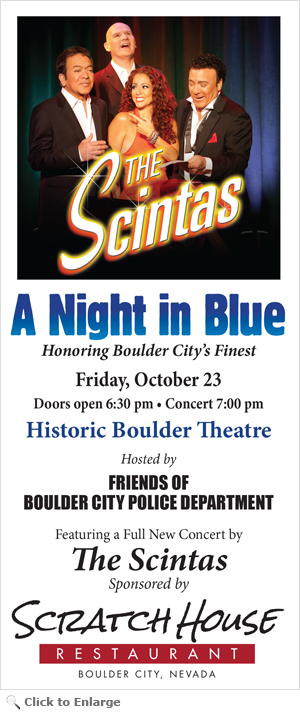 Friends of Boulder City Police Department Night in Blue 2015 Flyer